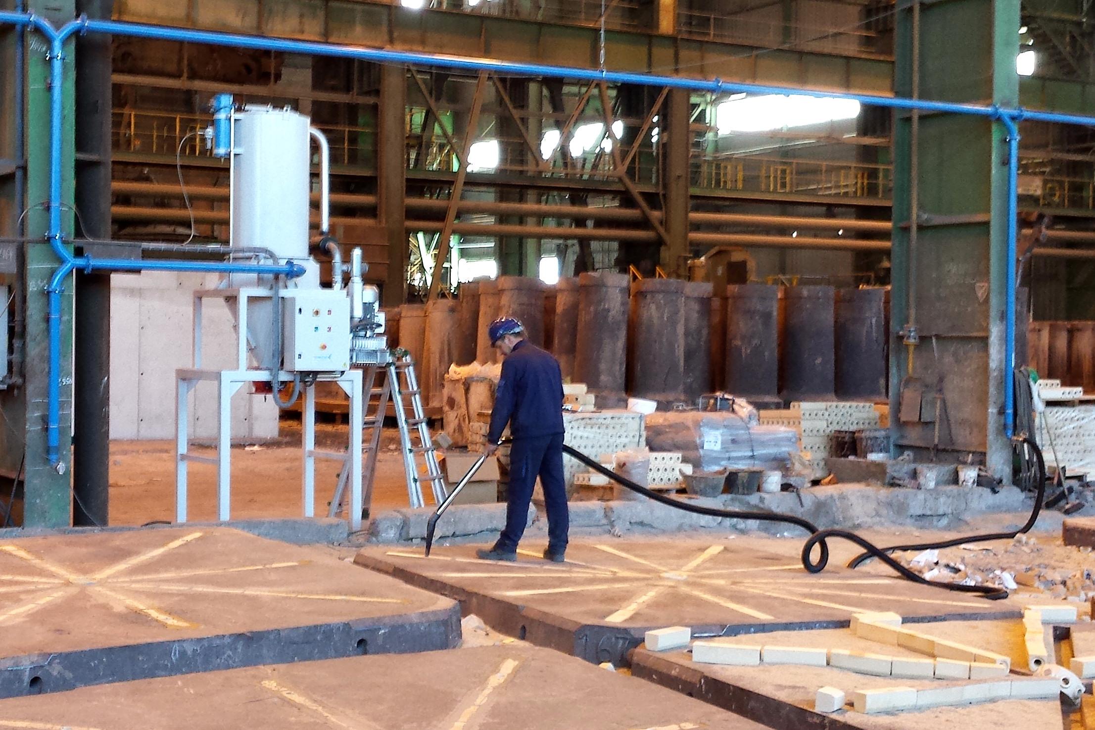 Instalación Aspiración Centralizada Industrial Tecnivent