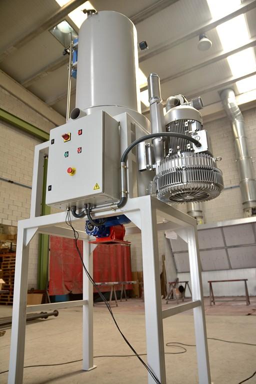 Equipo para Aspiración Centralizada Industrial Tecnivent
